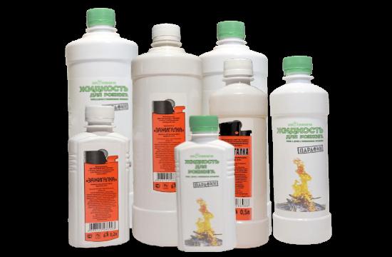Жидкости для розжига купить от производителя в Рязани